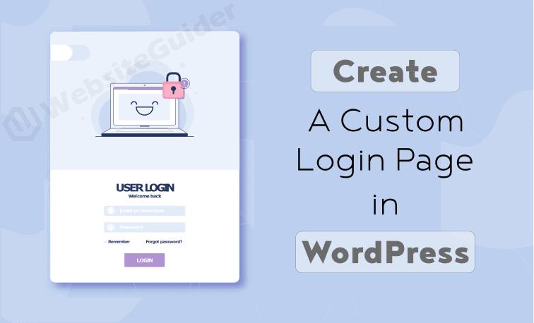create a custom login page in wordpress without plugin